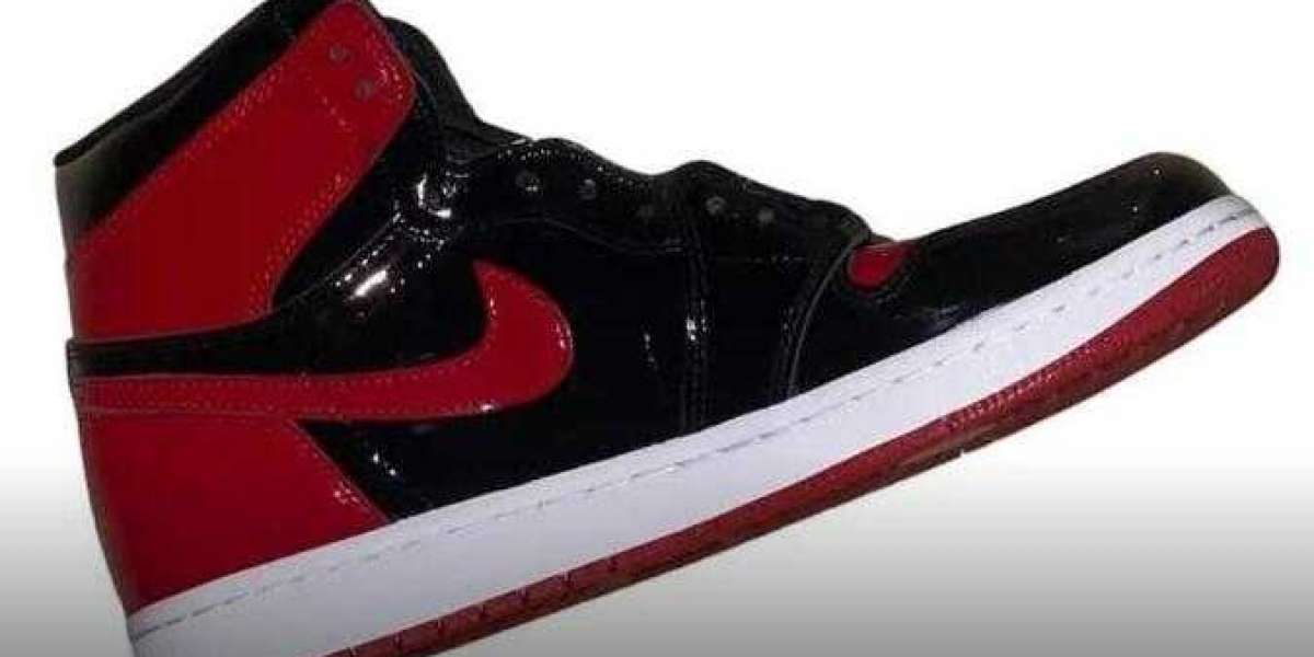 Air Jordan 1 High OG Bred Patent Will Releasing for This Fall